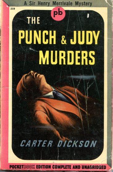 Carter Dickson - The Punch & Judy Murders 888
