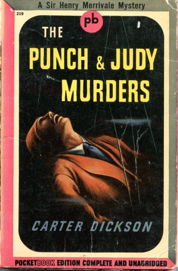 Carter Dickson - The Punch & Judy Murders 888