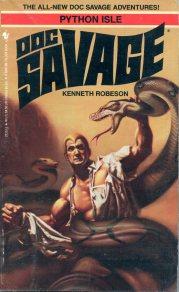 Doc Savage Python Isle 896