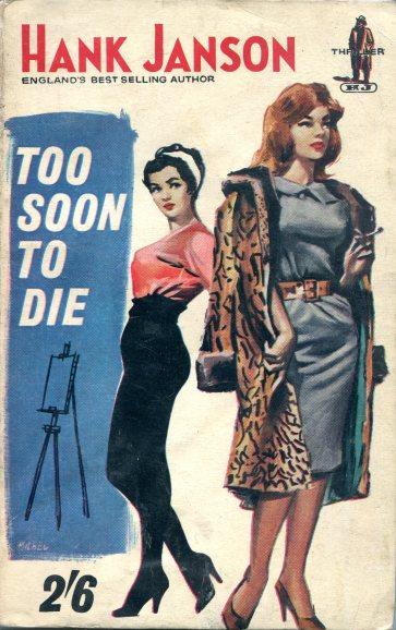 Hank Janson - Too Soon to Die 058