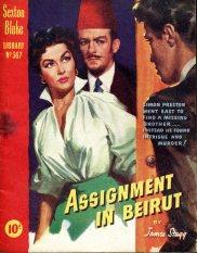 Sexton Blake - Assignment in Beirut 312