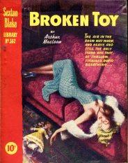 Sexton Blake - Broken Toy 310