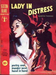 Sexton Blake - Lady in Darkness 319