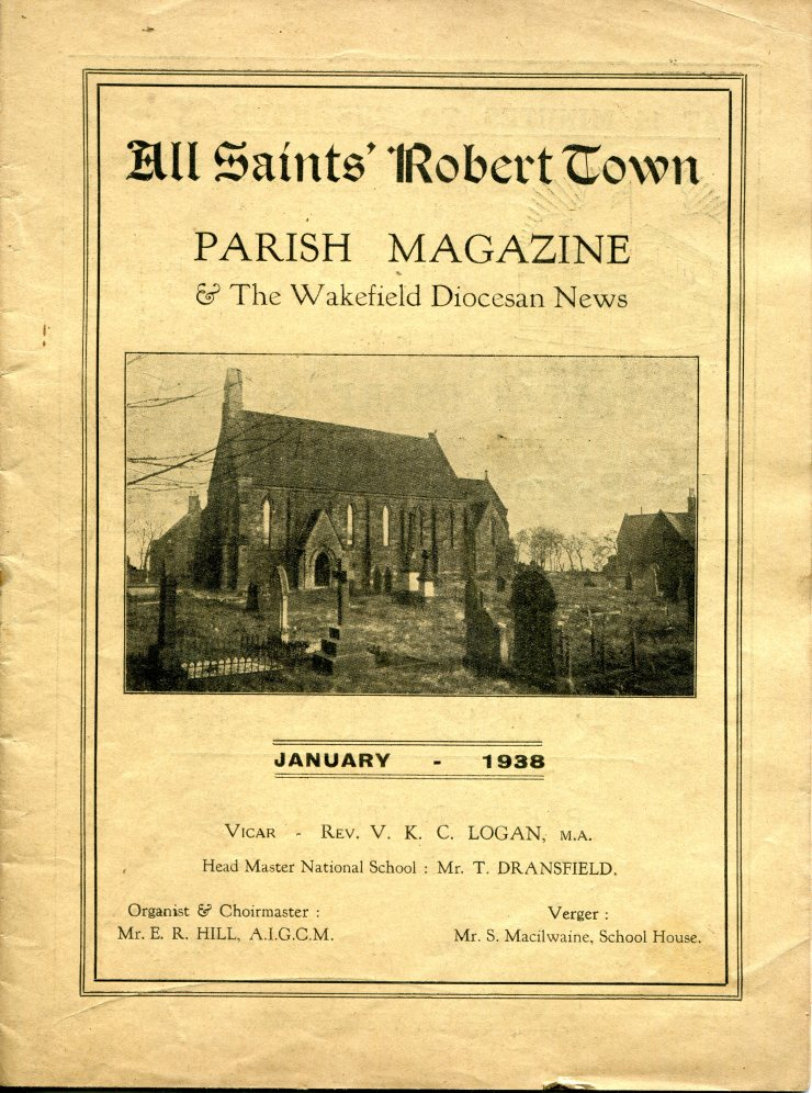 Roberttown Parish Magazine Jan 1938 062