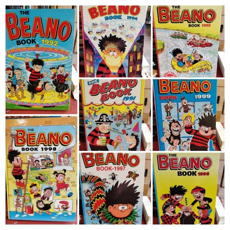 Beano 1991-COLLAGE