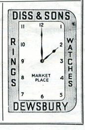 Dewsbury 1952 Diss & Son's 135