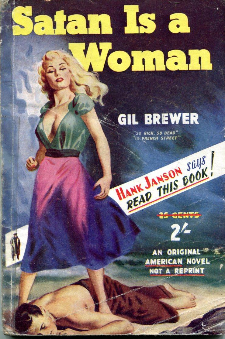 Gil Brewer - Satan is a Woman 118