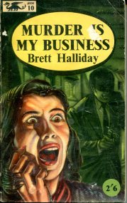 Halliday Brett - Murder is My Business - Barker Dragon 170