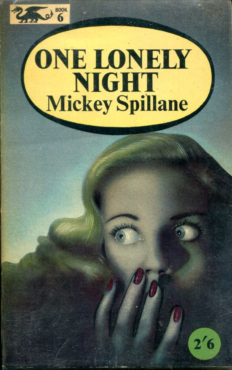 Spillane Mickey - One Lonely Night - Barker Dragon 174