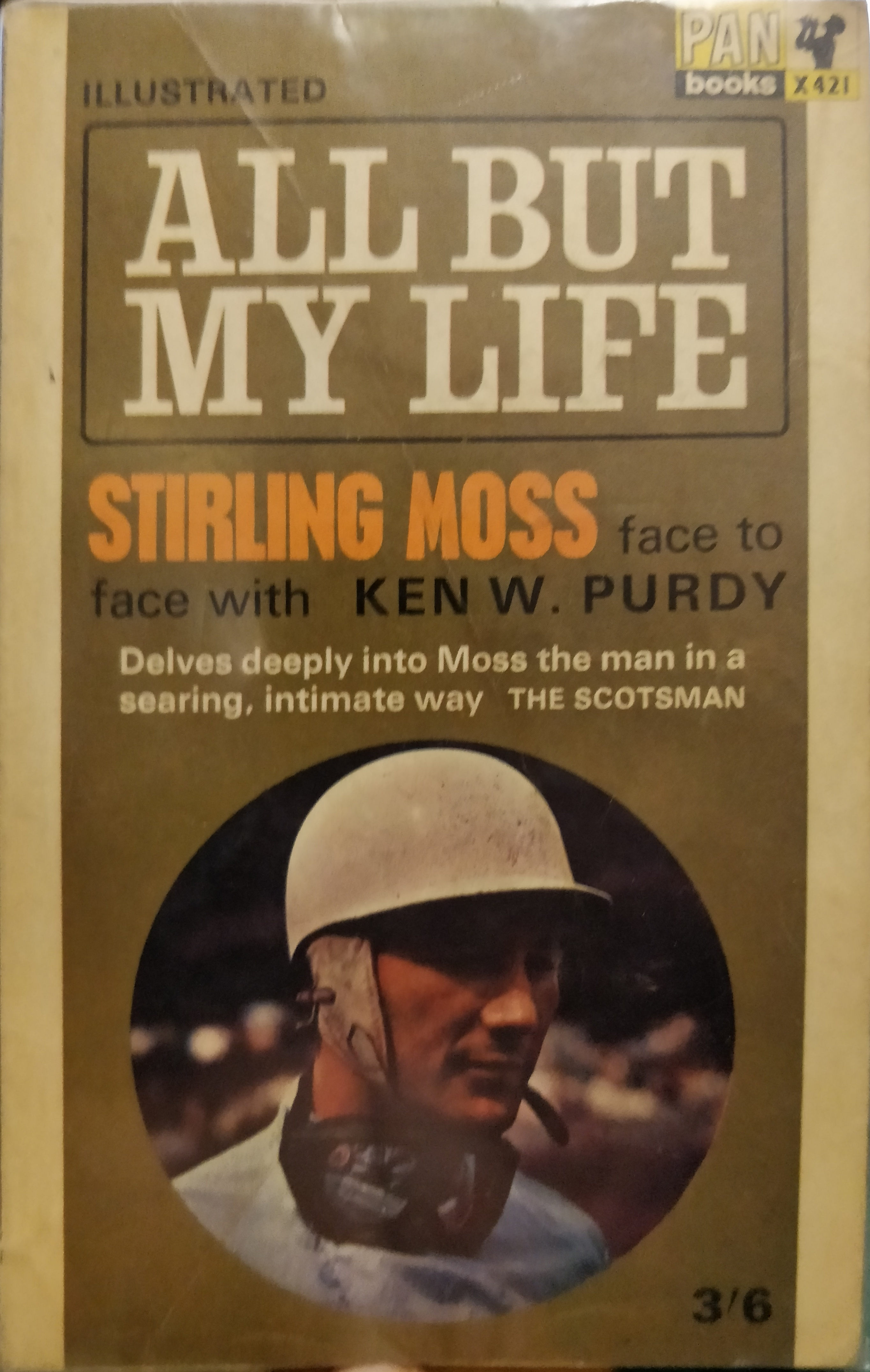 Moss Stirling - All But My Life - Pan X421